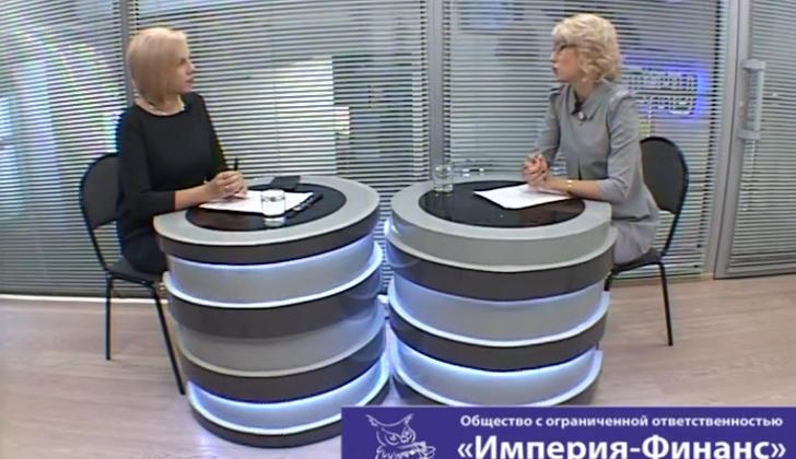 Юлия Сибилева в программе «Вечерний гость»
